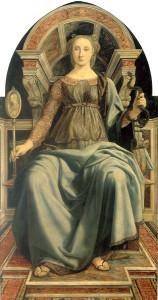 Piero del Pollaiolo, Prudenza (1470)