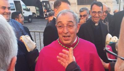 Saluto di De Donatis al clero romano